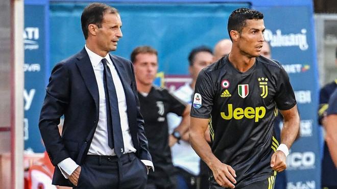 CHÍNH THỨC: Thầy của Ronaldo bị sa thải dù giúp đội bóng vô địch Italy - Ảnh 1.