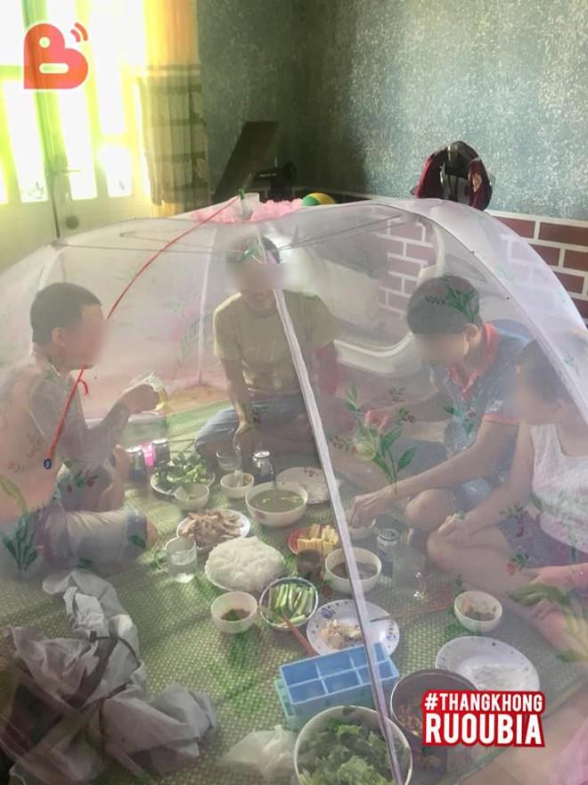 Bạn nhậu chê nhà lắm muỗi, chồng có hành động khiến vợ bầu 'phát hoảng' giữa trời nóng 40 độ - Ảnh 1.