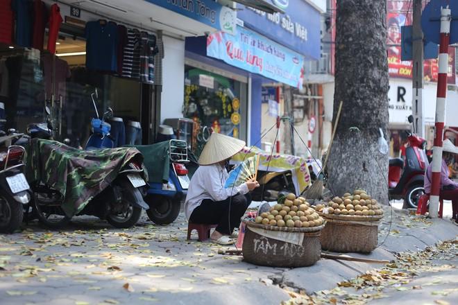 Người Hà Nội chống chọi với nắng nóng như thiêu như đốt đến hơn 40 độ C - Ảnh 6.