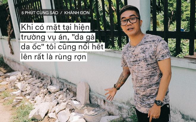 Ca sĩ Khánh Đơn lên tiếng khi bị chỉ trích đến hiện trường vụ án thi thể bị đổ bê tông quay phim - Ảnh 1.