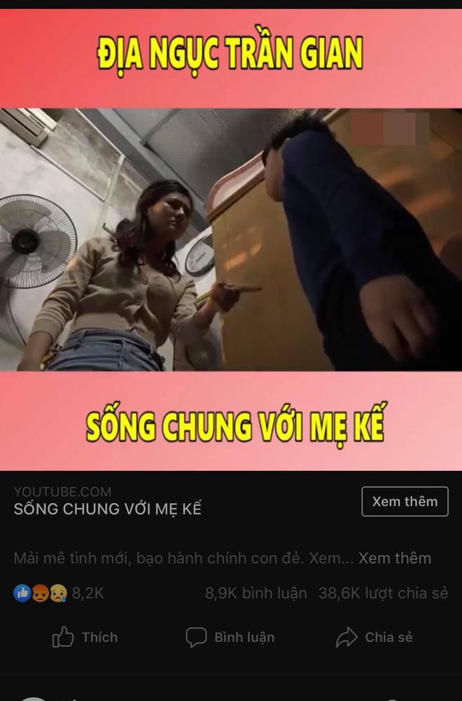 Từ 1 cảnh đánh con chồng, người đẹp Quảng Ninh bị người lạ khủng bố facebook, doạ đánh, chửi rủa - Ảnh 2.
