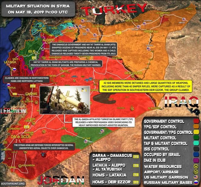 Đầu não Khmeimim bị tấn công, phòng không Nga khai hỏa - Syria đánh chặn tên lửa Israel - Ảnh 4.