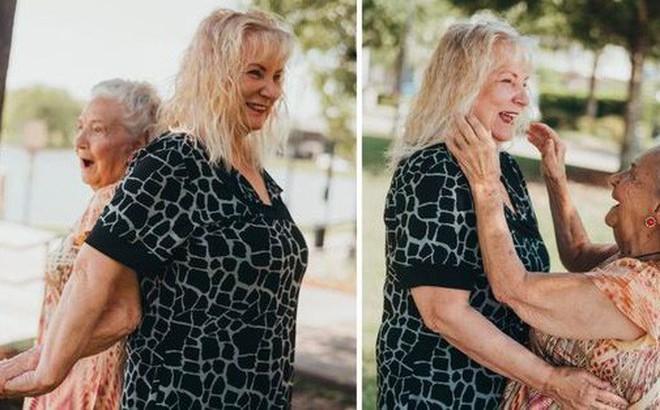 Nghẹn ngào giây phút đoàn tụ sau 70 năm xa cách của bà mẹ 90 tuổi