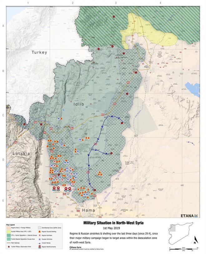 Chiến dịch Idlib - Hama sẽ diễn ra mà không có người Nga: Những kẻ trung gian thất bại? - Ảnh 3.