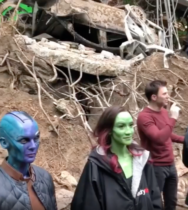 Lộ clip bất hợp pháp siêu hot trên phim trường Avengers: Endgame, khiến fan toàn thế giới mê mẩn - Ảnh 7.