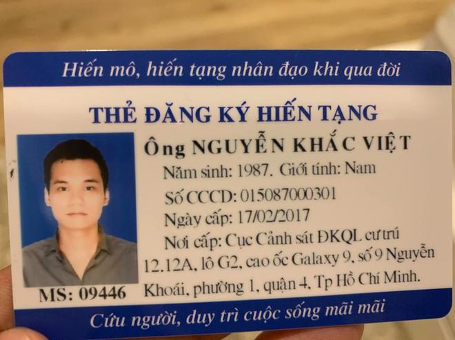 Sau Quyền Linh, Việt Trinh, ca sĩ Khắc Việt cũng đăng ký hiến tạng - Ảnh 1.