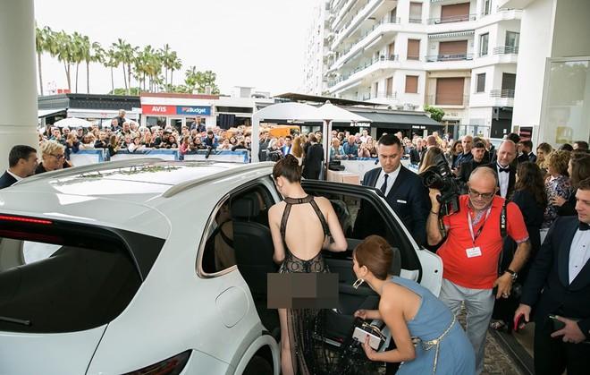 Khắc Tiệp tung bằng chứng Ngọc Trinh không bị ngó lơ tại Cannes - Ảnh 2.