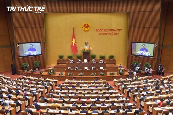 Điểm đổi mới đáng chú ý tại kỳ họp thứ 7 của Quốc hội khai mạc vào sáng nay - Ảnh 1.