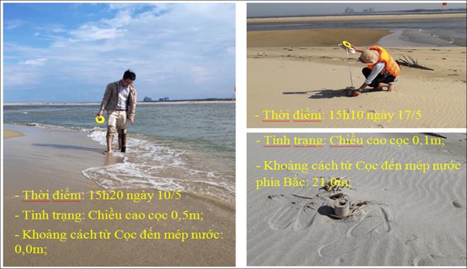 Hình thành các vịnh kín ở cồn cát khổng lồ nổi lên giữa biển Hội An - Ảnh 2.