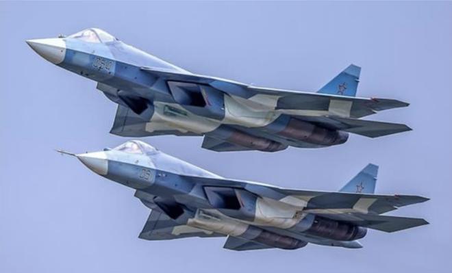 Chuyên gia ngỡ ngàng: Tiêm kích thế hệ 5 Su-57 rẻ giật mình, bèo hơn cả Su-35 Trung Quốc - Ảnh 1.