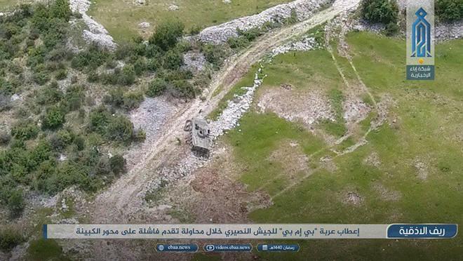 Sư đoàn Cơ giới Số 4 Quân đội Syria tiếp tục thất bại ở Latakia - Ảnh 1.