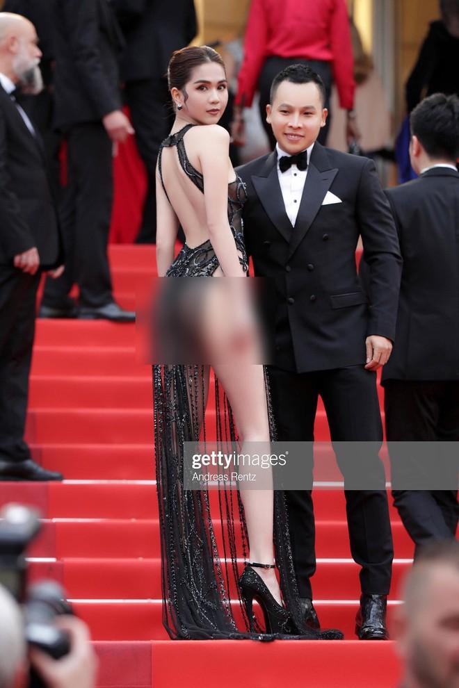 Ngọc Trinh lên tiếng khi bị chỉ trích phản cảm trên thảm đỏ Cannes: Tôi là nữ hoàng nội y, mặc vậy là bình thường - Ảnh 3.