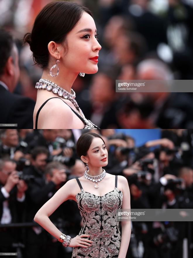 Mỹ nhân bị nhầm với Ngọc Trinh: Nàng công chúa Hoa ngữ đẹp ná thở tại Cannes bất chấp ảnh không photoshop - Ảnh 4.