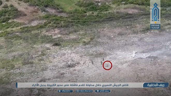 Sư đoàn Cơ giới Số 4 Quân đội Syria tiếp tục thất bại ở Latakia - Ảnh 3.