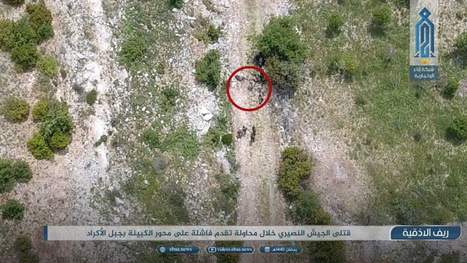 Sư đoàn Cơ giới Số 4 Quân đội Syria tiếp tục thất bại ở Latakia - Ảnh 4.