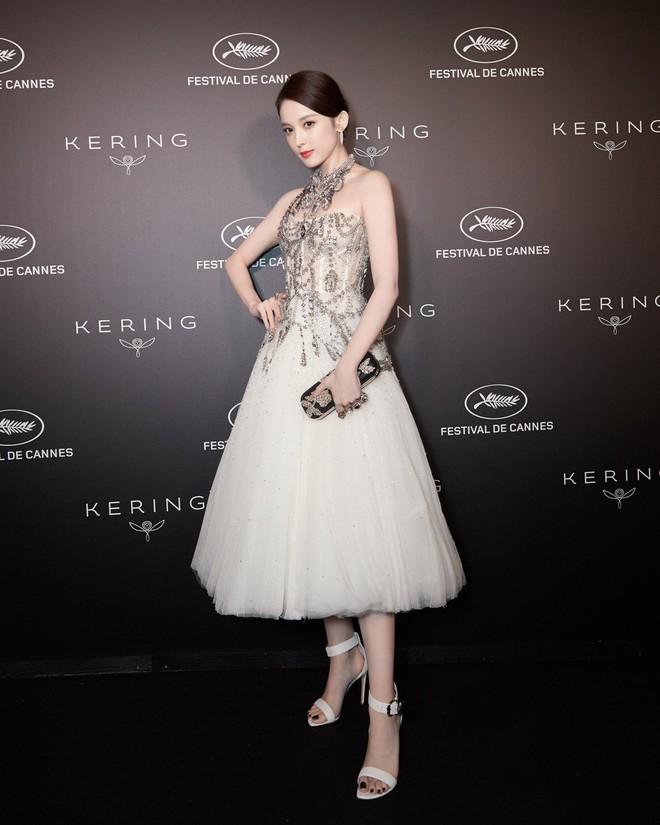 Mỹ nhân bị nhầm với Ngọc Trinh: Nàng công chúa Hoa ngữ đẹp ná thở tại Cannes bất chấp ảnh không photoshop - Ảnh 8.
