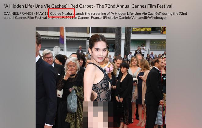 Ngọc Trinh là ai giữa LHP Cannes: Bị nhiếp ảnh quốc tế gắn mác vị khách vô danh, thậm chí nhầm hẳn sang mỹ nhân Cbiz - Ảnh 4.