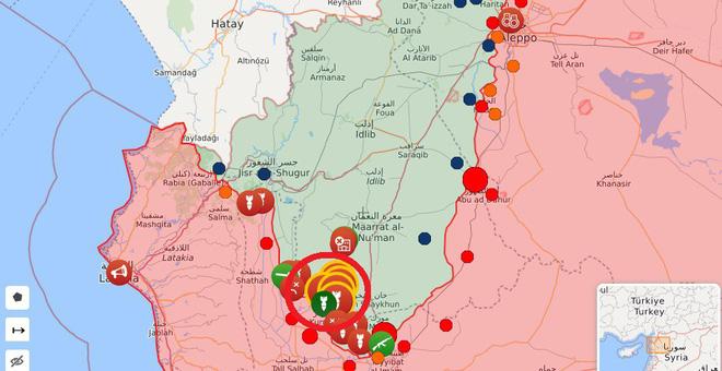 Phiến quân phản kích, hàng đàn xe bom tự sát xông lên - QĐ Syria thua nặng ở Kabani - Ảnh 1.