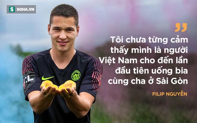 Thủ môn Filip Nguyễn: Giống Lâm Tây đến kỳ lạ; yêu Việt Nam nhờ một lần uống bia - Ảnh 9.