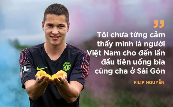 """Thủ môn Filip Nguyễn: Giống Lâm """"Tây"""" đến kỳ lạ; yêu Việt Nam nhờ một lần uống bia"""