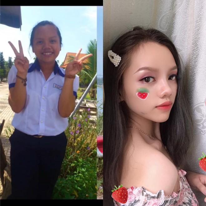 Màn lột xác ngoạn mục sau 5 tháng của cô gái 20 tuổi: Giảm 20kg biến thành hot girl - Ảnh 3.