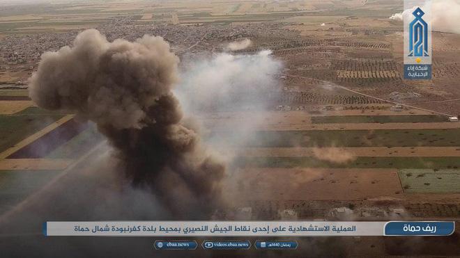 Khủng bố tổ chức phản công lớn tại Tây Bắc Syria: Tín hiệu không kích của Mỹ hiệu quả? - Ảnh 8.