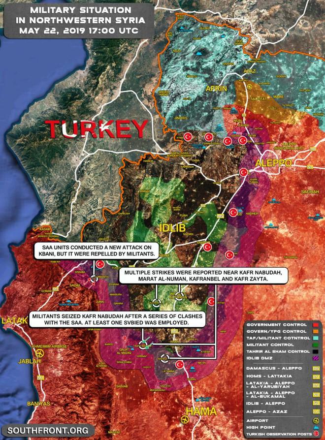 QĐ Syria đang đứng trước thế ngàn cân treo sợi tóc ở Hama - Ngày đen tối chưa từng có - Ảnh 1.