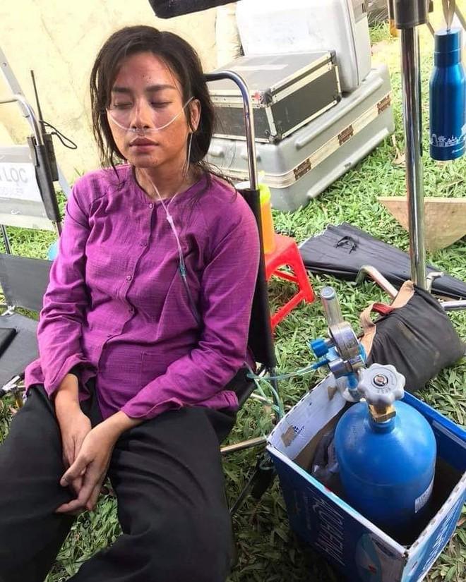 Ngô Thanh Vân bệnh chỉ dám thở oxy trên trường quay Hai Phượng để tiết kiệm chi phí - Ảnh 2.