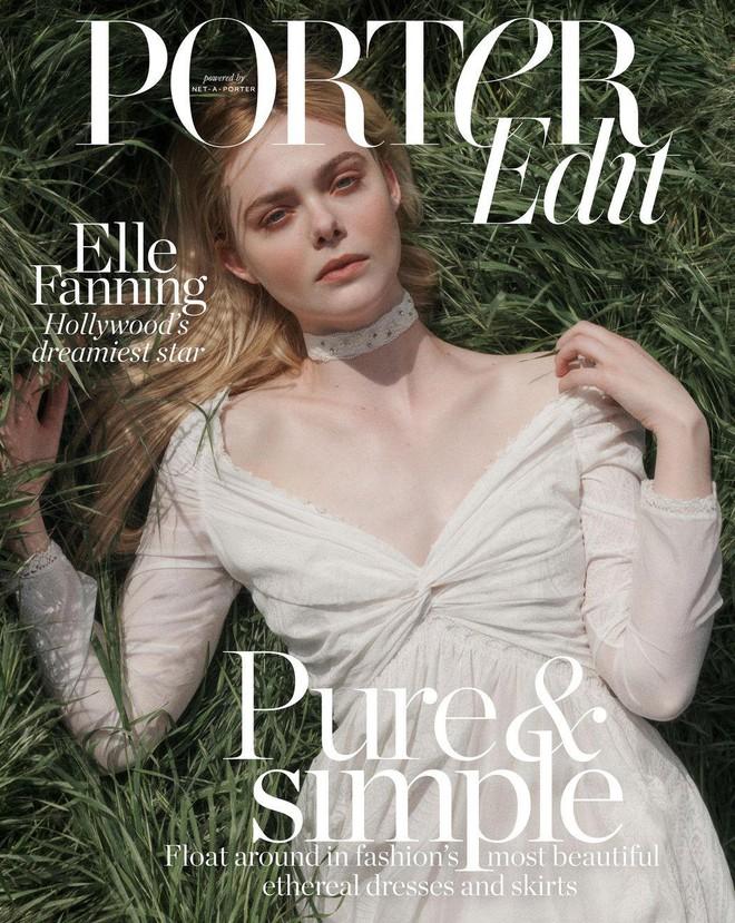 Giám khảo trẻ nhất lịch sử Cannes Elle Fanning: Đẹp vô thực, từ bóng của chị gái thành cô tiên nước Mỹ quyền lực - Ảnh 8.