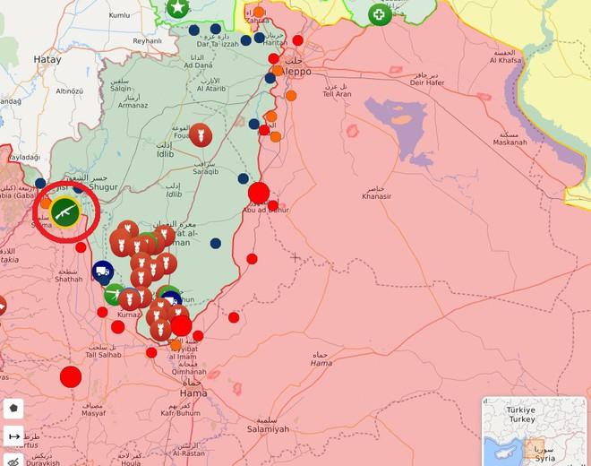 Mỹ bất ngờ tham chiến bằng tuyệt chiêu mới - QĐ Syria tháo chạy, bị phiến quân thu giữ nhiều vũ khí - Ảnh 1.