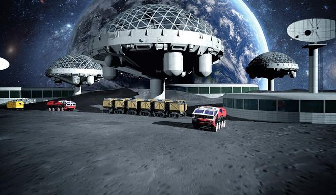 Hợp tác với tập đoàn viễn thông Maxar, NASA chuẩn bị xây trạm không gian trên mặt trăng - Ảnh 1.