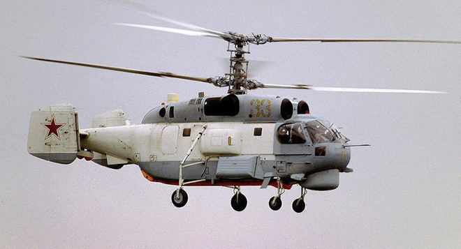Chỉ có ở Syria: Trực thăng săn ngầm Ka-28 ném bom tấn công mặt đất - Ảnh 1.