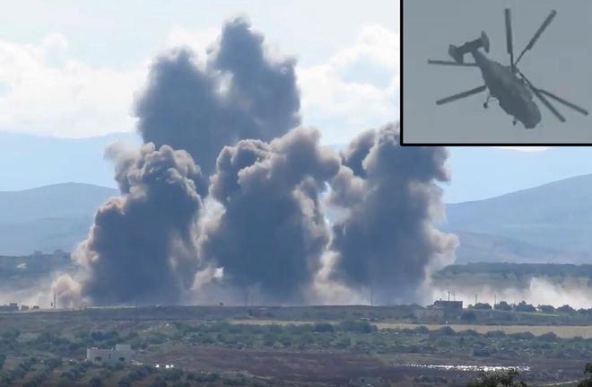 Chỉ có ở Syria: Trực thăng săn ngầm Ka-28 ném bom tấn công mặt đất - Ảnh 12.