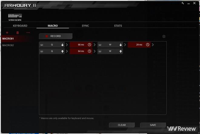 Đánh giá bàn phím cơ Asus ROG Strix Scope: