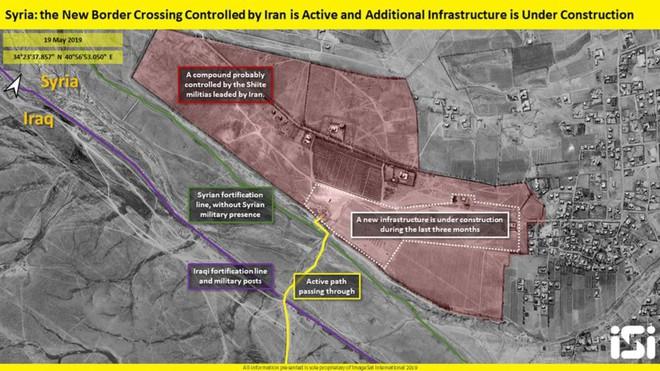 Phát hiện động thái bí ẩn của Iran tại biên giới Syria - Ảnh 3.