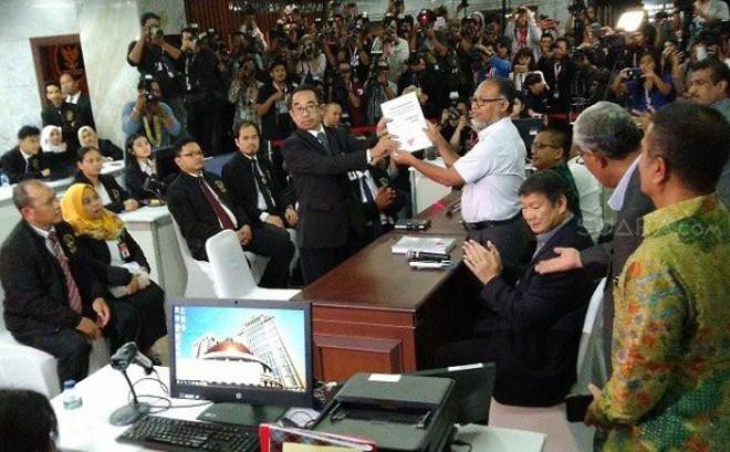 Bầu cử Indonesia 2019: Phe đối lập đệ đơn kiện lên Tòa Hiến pháp