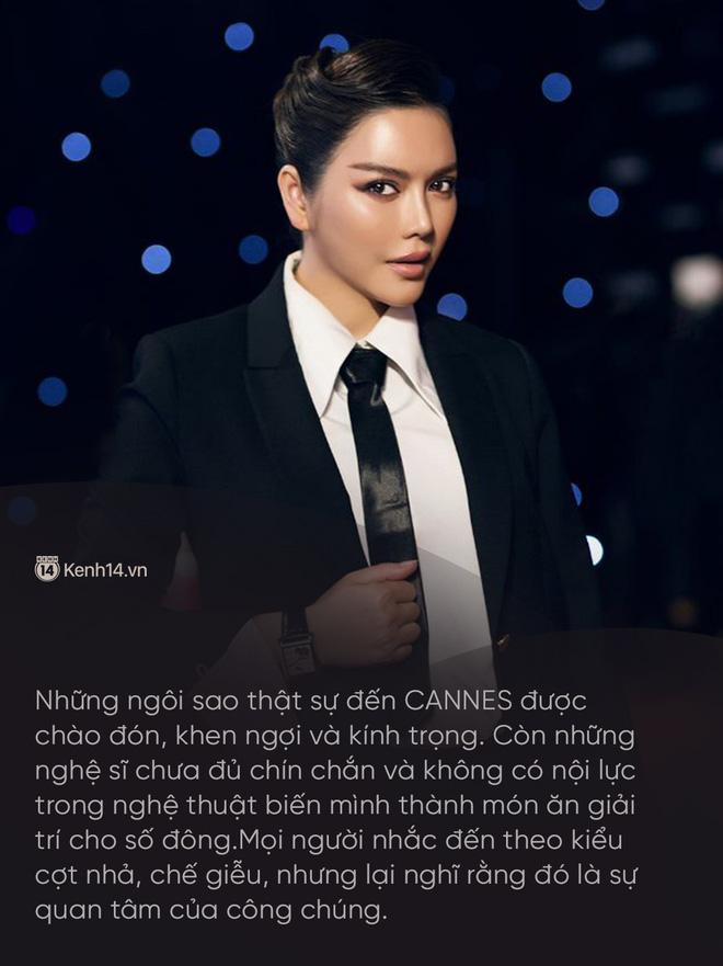 Lý Nhã Kỳ: Tự bỏ tiền túi đi Cannes là ngốc nghếch, nhiều nghệ sĩ đang làm quá vai trò mình trên thảm đỏ lừa truyền thông - Ảnh 16.