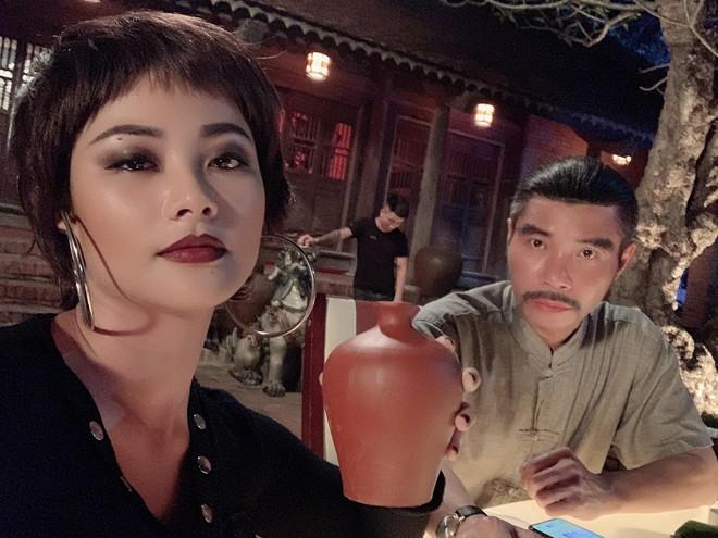 """Nhan sắc gợi cảm của """"con gái ông trùm ma túy Cường Lâm"""" phim Mê cung - Ảnh 1."""