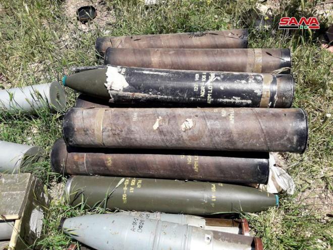 Quân đội Syria tóm sống kho vũ khí khổng lồ của phiến quân: Toàn hàng khủng! - Ảnh 6.