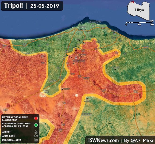 Tướng Haftar thề quyết chiến với dân quân Tripoli: Libya đang tự sát? - Ảnh 1.