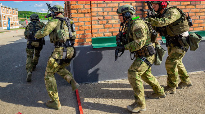 Quy trình huấn luyện chống khủng bố khắc nghiệt của đặc nhiệm Nga - Ảnh 2.