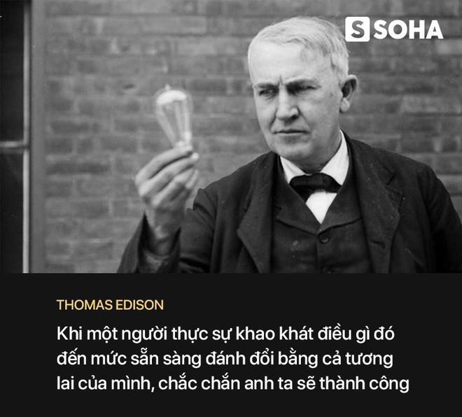 Kẻ lang thang chinh phục nhà phát minh thiên tài Edison: Bí quyết thành công nằm ở câu chuyện này - Ảnh 1.