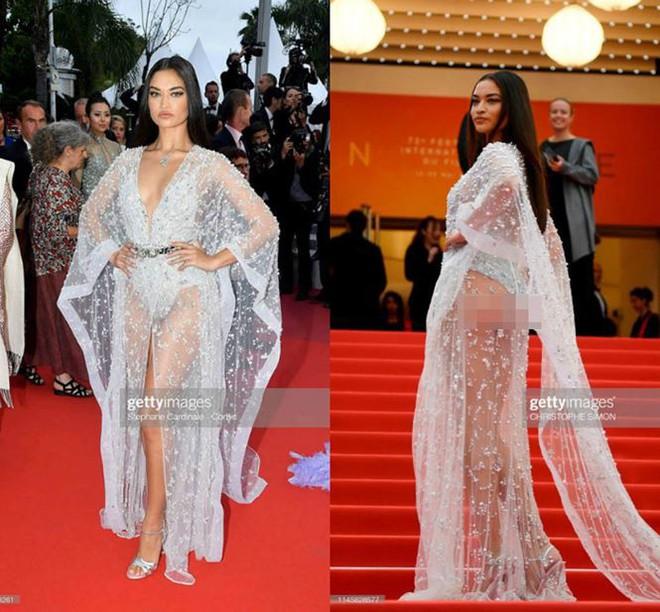 Những bộ cánh mặc như không phản cảm nhất tại Liên hoan phim Cannes lần thứ 72 - Ảnh 17.