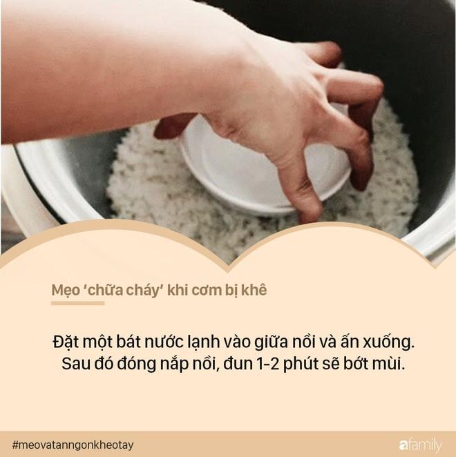 Cứ ngỡ mình nấu cơm ngon nhưng bạn vẫn sẽ thảng thốt khi biết chùm chữa cháy chuẩn chỉnh này - Ảnh 4.