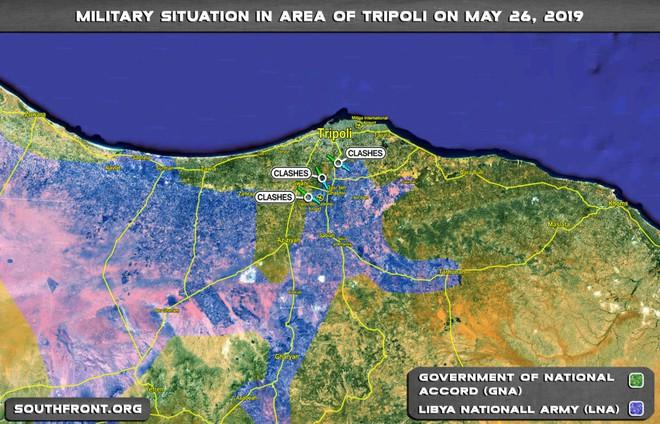 Đột biến lớn ở Libya: LNA điểm huyệt Tripoli, Tướng Haftar sắp lên ngôi - Thắng làm vua? - Ảnh 1.