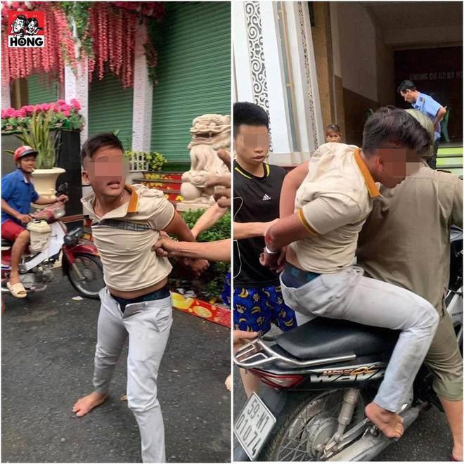 Bị bắt khi đang giật dây chuyền, tên cướp nài nỉ: Anh ơi kéo quần lên dùm em - Ảnh 1.
