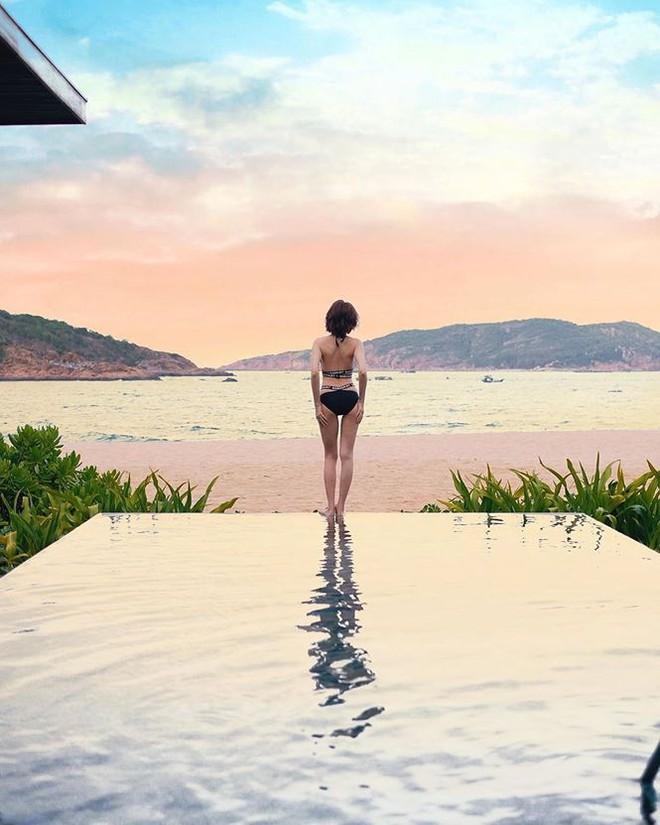 Mâu Thuỷ, Bảo Anh và nhiều mỹ nhân Việt khoe dáng nuột nà với bikini - Ảnh 3.