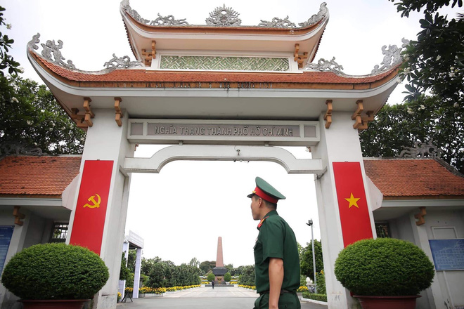 Lễ an táng cố Chủ tịch nước Lê Đức Anh ở TP Hồ Chí Minh - Ảnh 36.