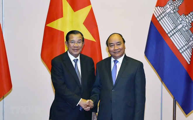 Thủ tướng tiếp lãnh đạo Campuchia và Lào sang dự Quốc tang
