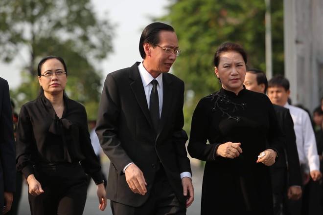 Lễ an táng cố Chủ tịch nước Lê Đức Anh ở TP Hồ Chí Minh - Ảnh 21.